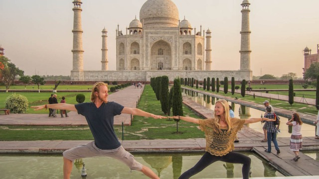 Best travel jobs - yoga teaching