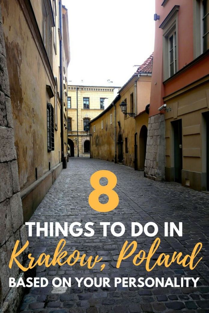 Heading to Krakow, Poland? Whether you're a rebel or a romantic, here are 8 interesting travel activities in Krakow based on 8 different personality types! Click through to read...