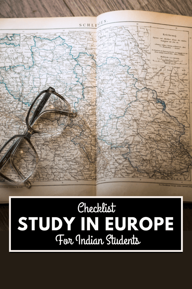 Here's a quick list of handy things an Indian student planning on studying in Europe should keep in mind! Based on my own experience...