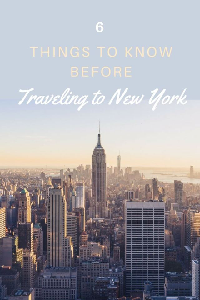 New York is the city of dreamers, believers, movers and shakers but before traveling to New York, there are some things you should know... (click through to read now!)