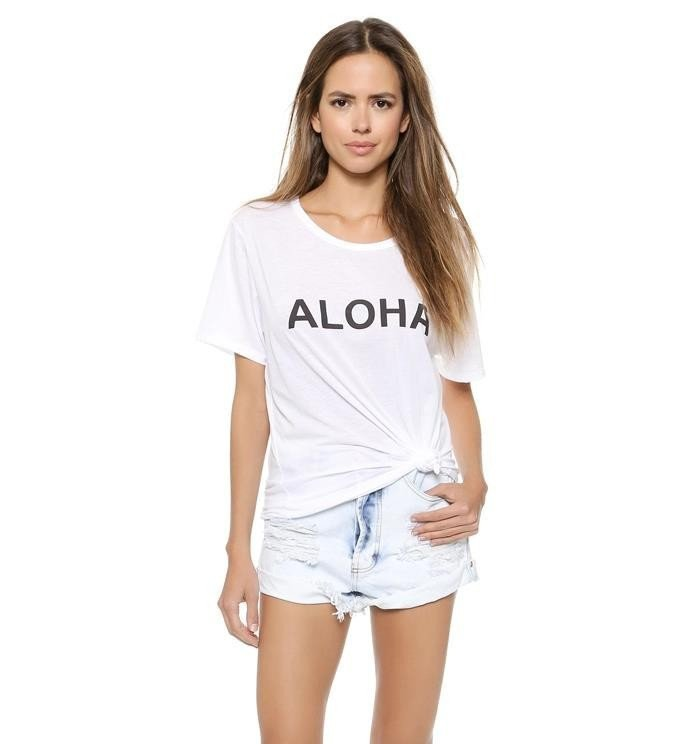 Aloha Women's Tee - Summer Travel Gifts For Female Travelers