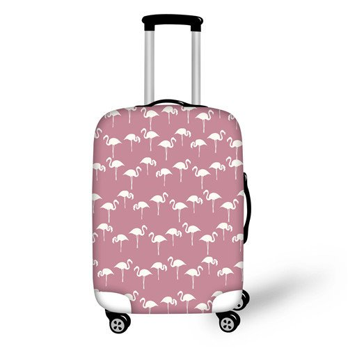 Flamingo Elastic Luggage Cover - Summer Travel Gifts For Female Travelers