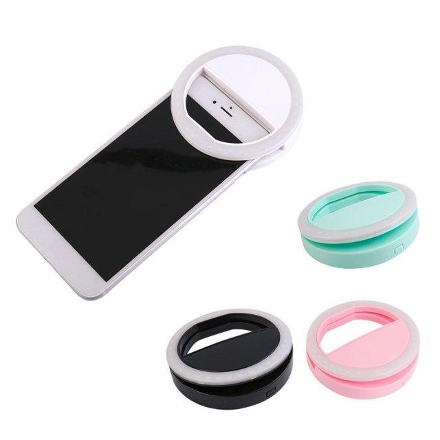 Selfie Led Light Ring - Summer Travel Gifts For Female Travelers