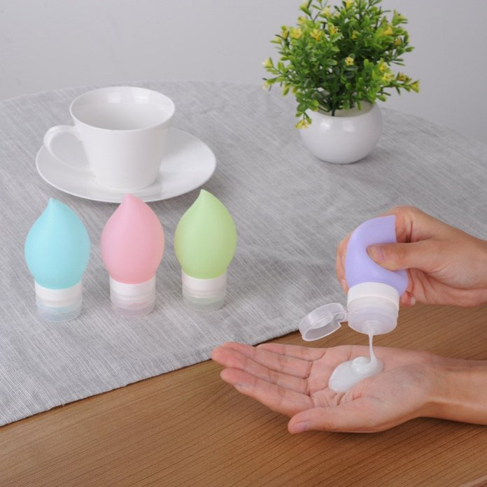 Teardrop Silicone Travel Bottles - Summer Travel Gifts For Female Travelers