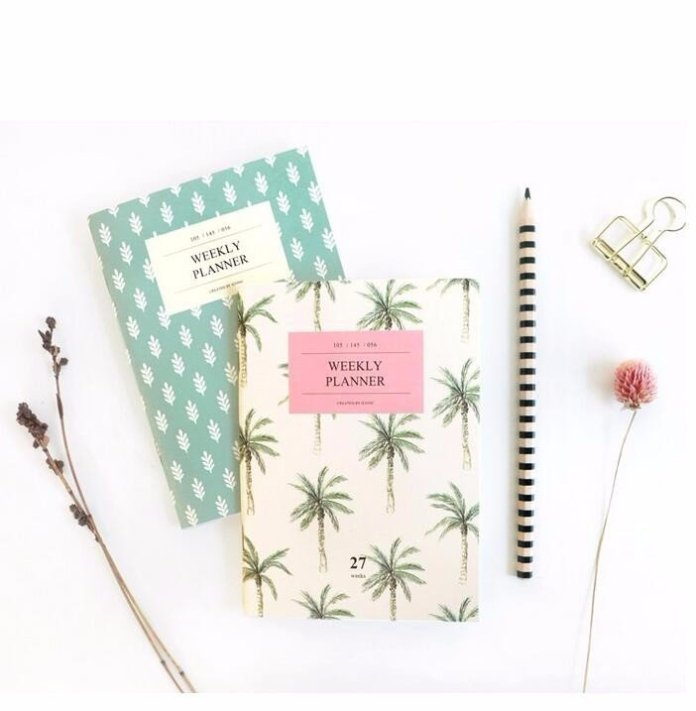 Wildly Organised A6 Weekly Planner - Summer Travel Gifts For Female Travelers