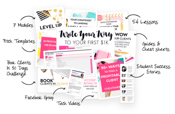 Write Your Way To 1K Freelance Writing Course - Top Travel Job Courses Which Will Teach You How To Work From Anywhere