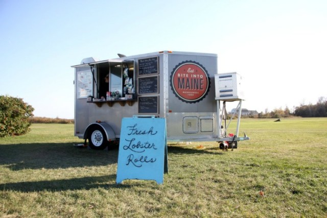 Bite Into Maine lobster food truck in Maine