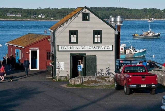 Lobster in Maine: Five Islands Lobster Co