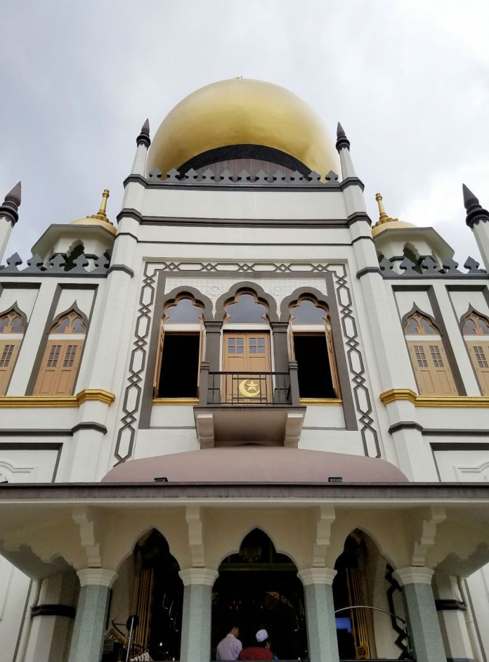 48 hour Singapore travel itinerary: Sultan Mosque, Kampong Glam