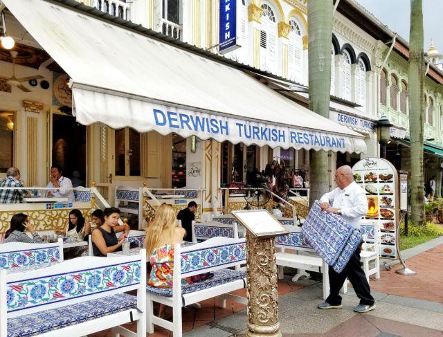 48 hour Singapore travel itinerary: Kampong Glam restaurants