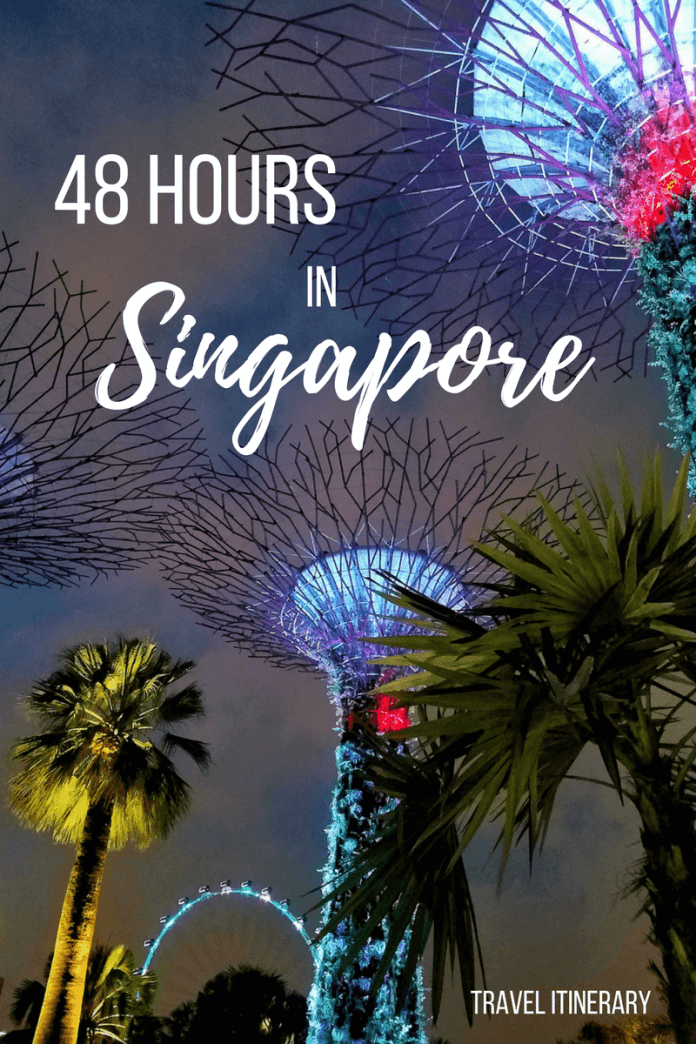 We spent 48 hours in Singapore & aimed to fit as much in as possible. Now we're sharing our experience in our personal Singapore guide & travel vlog!