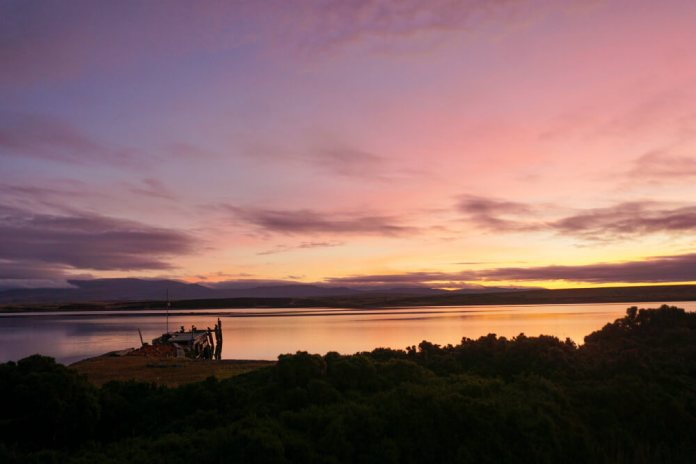 Falkland Islands sunset