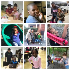 collage of photos from youth programs