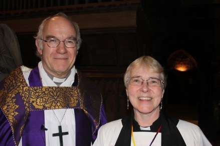 Bishop Peter and Veronica
