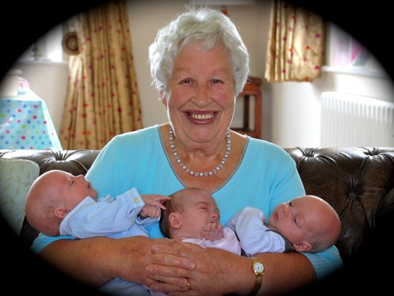 Peggy and the triplets