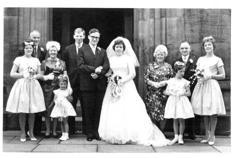 Congratulations to Roy and Hylda – 50th Wedding Anniversary!