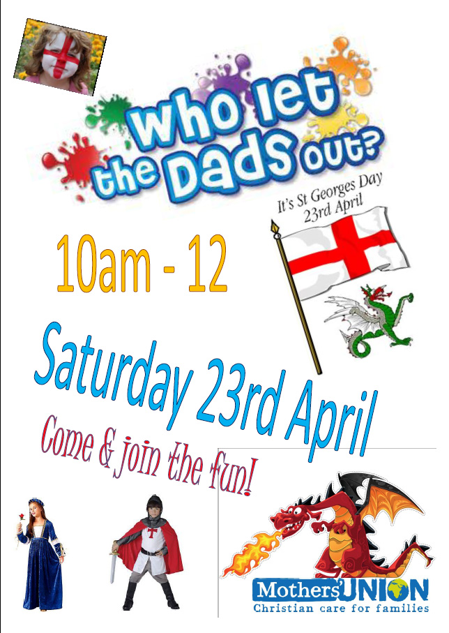 Who Let The Dads Out? – 23 April 2016