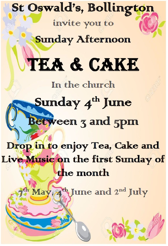 Coming Up… Afternoon Tea