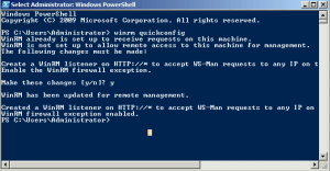 PowerShell winrm /quickconfig