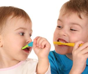 Brushing and Flossing at Home