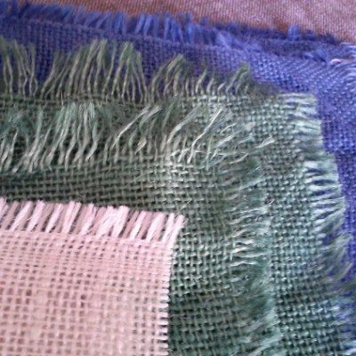 How to Dye?  Confessions of a Burlap Newbie