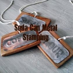 Soda can metal stamping
