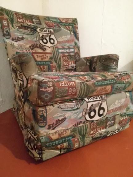 Wonderful Route 66 Chair