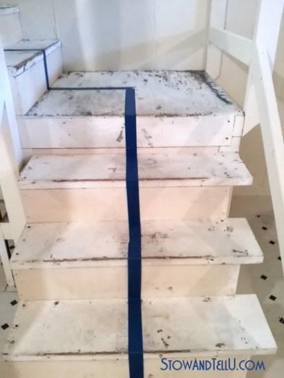 paint-stairs, diy-stairs-painting-tip-http://www.stowandtellu.com