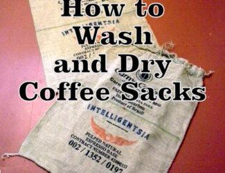 how-to-wash-dry-coffee-sacks-http://www.stowandtellu.com