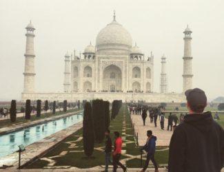 taj mahal-postcards from India,http://www.stowandtellu.com