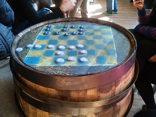 beer-barrel-pub-table-checker-board