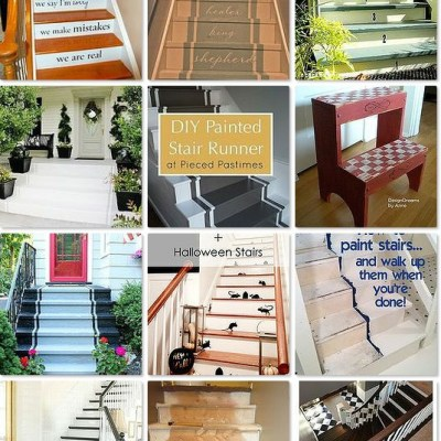 17 Creative Ways to Un-Carpet Your Stairs with Paint