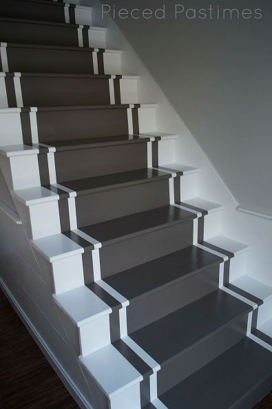 Lighting Basement Washroom Stairs: 17 Creative Ideas For Painting Stairs