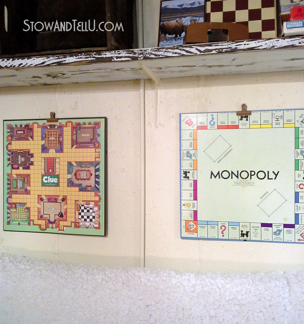 Easy Way To Hang Board Game Art