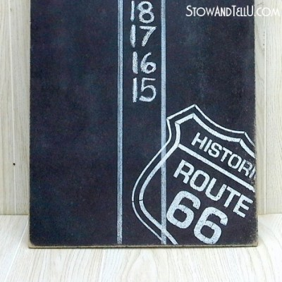 Route 66 DIY Dartboard Scoreboard