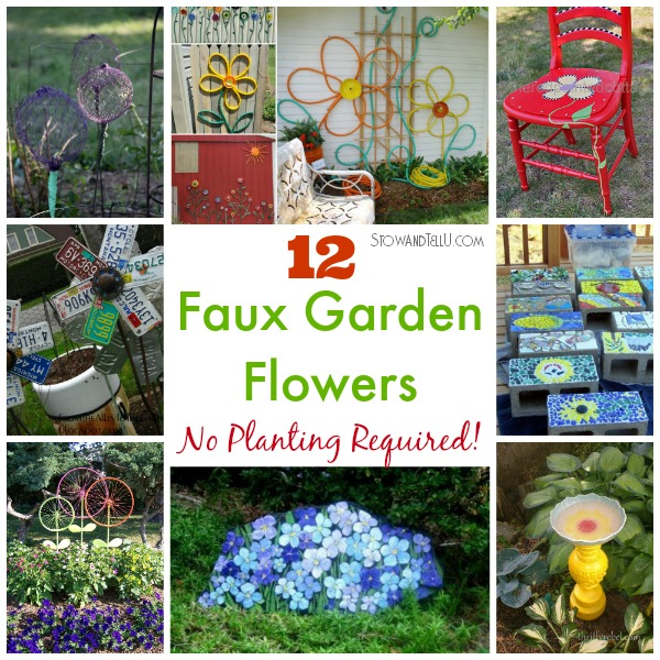 Fake Faux Flower Gardening Diy Http://stowandtellu.