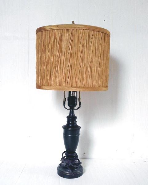 Weathered Old Newspaper Lamp Shade | Stow&TellU