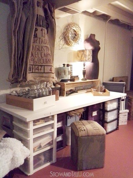 salvaged-old-door-repurposed-arts-craft-table-stowandtellu.com