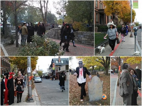A visit to Salem Massachusetts on Halloween