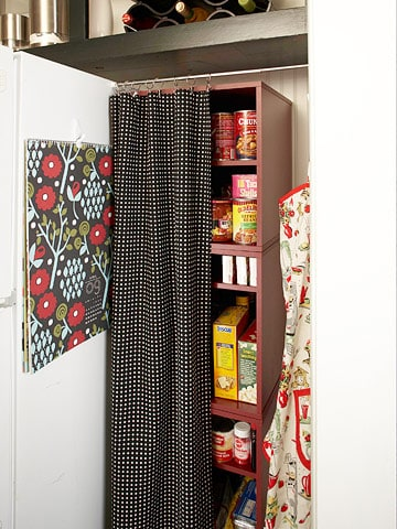 Elegant If Your Kitchen Doesnu0027t Have A Pantry, Any Of These Faux Pantry Ideas