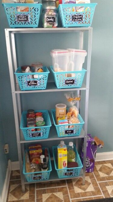 Faux kitchen pantry with purpose - If your kitchen doesn't have a pantry, any of these faux pantry ideas might work for you - StowandTellU.com