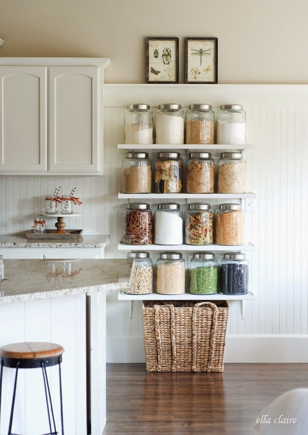 20 Faux Kitchen Pantry Ideas | Stow&TellU