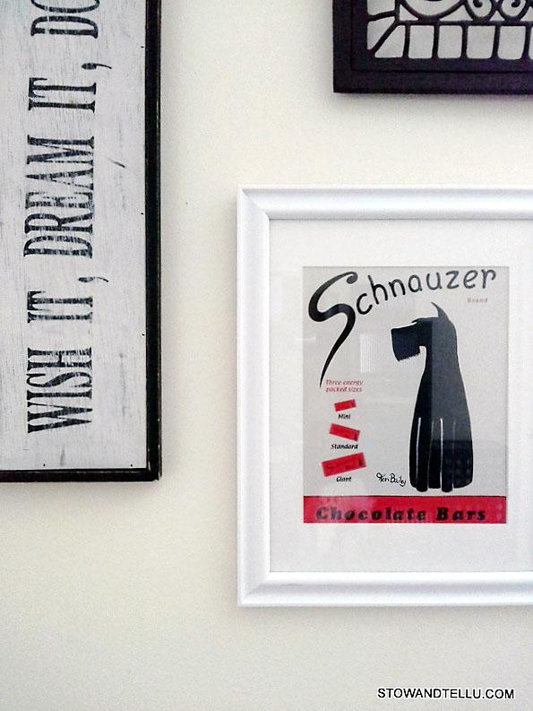 thrifted-wall-art-guest-bedroom-makeover - StowandTellU.com