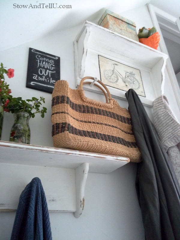 stairway-entry-coat-rack-storage-nook-StowAndTellU.com