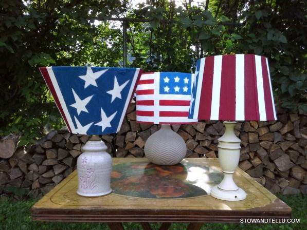 diy-americal-flag-solar-lamps