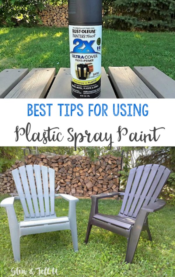 Does Plastic Spray Paint Work? | Try these Best Tips for Spray Painting Plastic to make it last longer | Stowandtellu.com