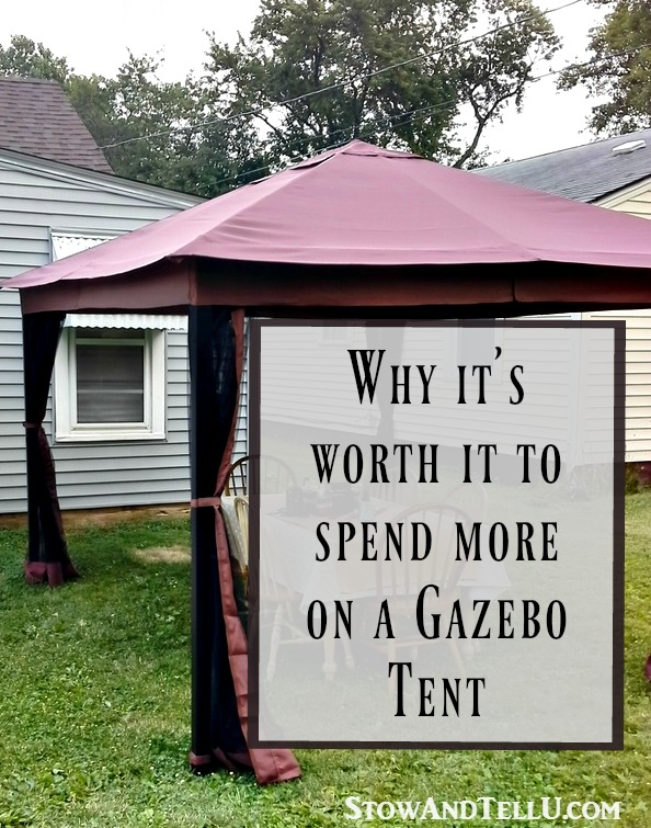 Why you should spend more when buying a gazebo tent - StowandTellU.com