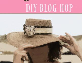 DIY Blog Hop for the FiftySomething home decor style - StowandTellU #FiftyandFab