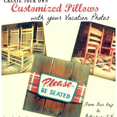 Make Vacation Photo Throw Pillows Using Groupon