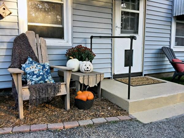 Concrete porch stoop update | StowandTellu